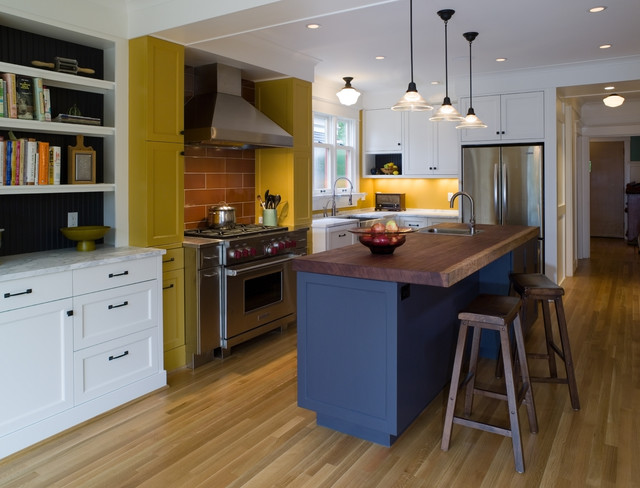 Colorful Kitchen contemporary-kitchen