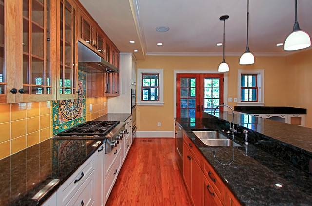 Colorful Kitchen traditional-kitchen