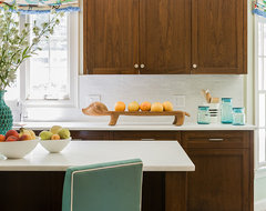 Colorful Traditional eclectic-kitchen