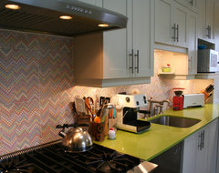 Colorfull kitchen remodel eclectic kitchen