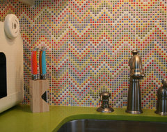 Colorfull kitchen remodel eclectic-kitchen