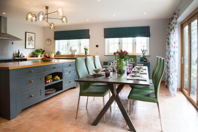 Colourful Kitchen - Ashford fusion-kitchen