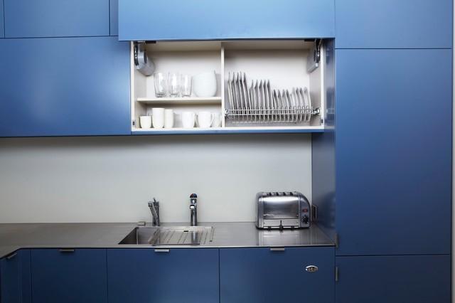 Colourful Kitchen contemporary-kitchen