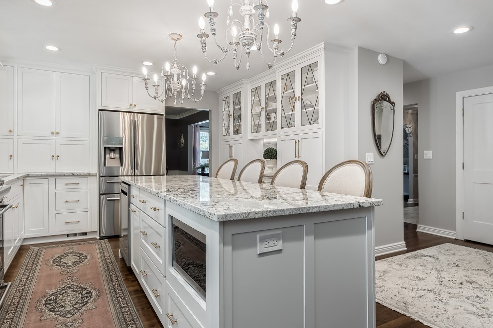 Columbus Ohio Kitchen Remodel 3 French Country Kitchen Columbus By Kitchen Kraft