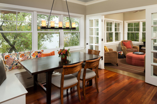 comfortable cottage style traditional dining room minneapolis