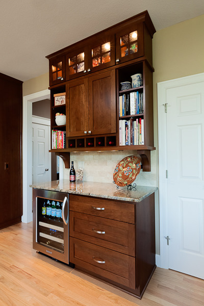 Command Central/Drink Bar traditional-kitchen