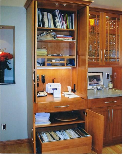 Command Central contemporary-kitchen