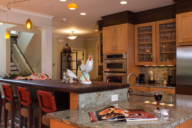 Compact and contempary with simple style for Traditional kitchen meaning