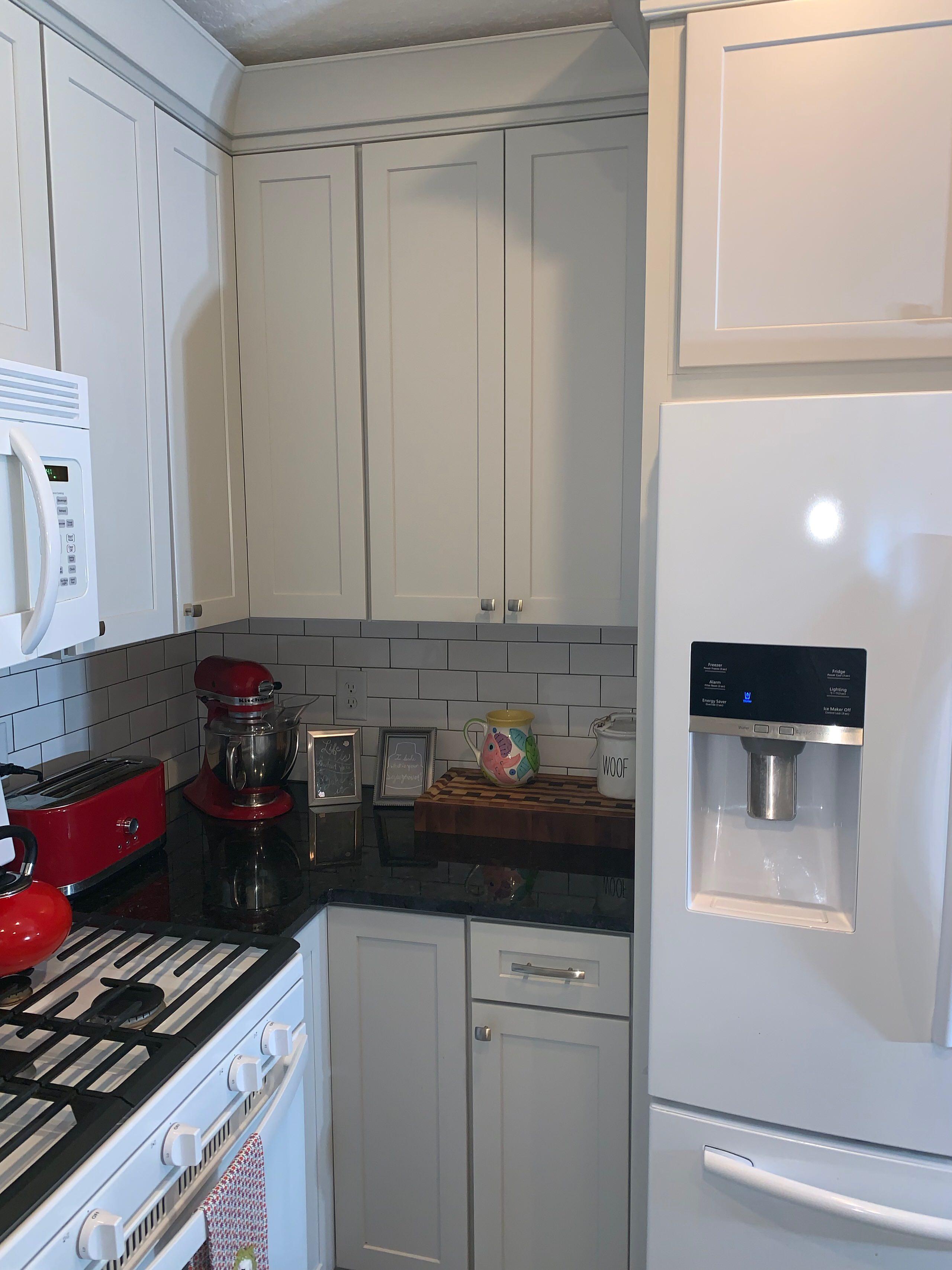 Compact Grey Kitchen
