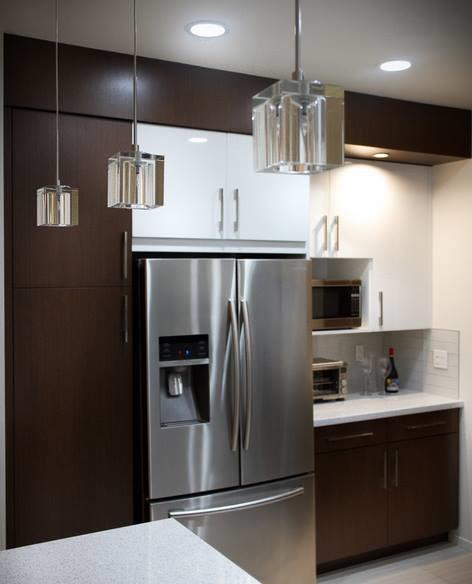 Compact Kitchen Modern Kitchen Houston By Cabinets Designs