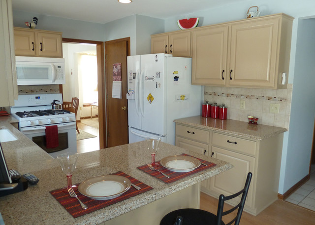 painted kitchen cabinets with white appliances painted kitchen cabinets with white appliances 9053