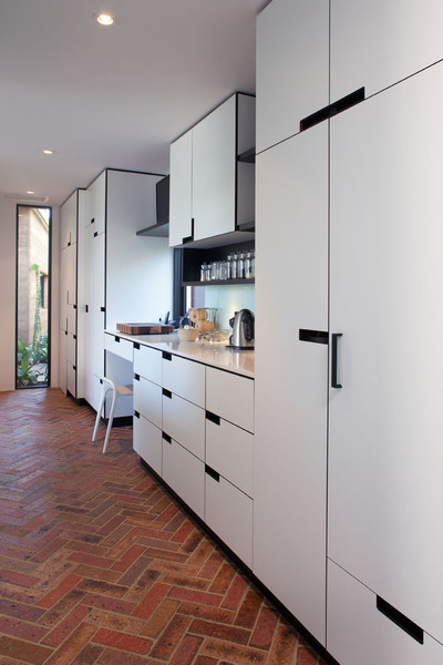 ... , Marimeko House - Modern - Kitchen - Perth - by Franke Cabinets