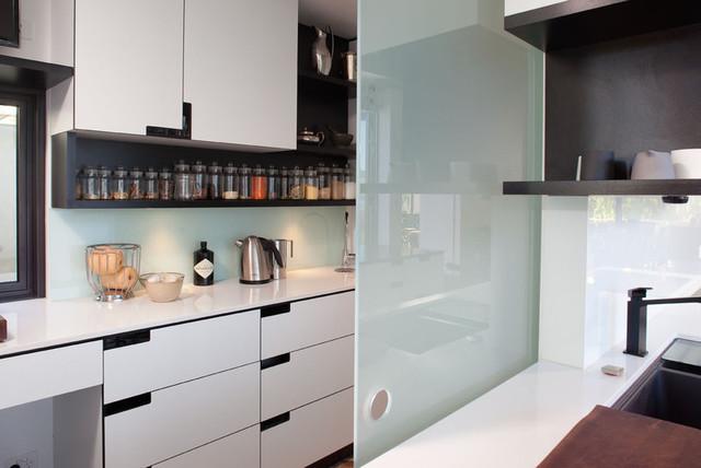 ... , Marimeko House - Modern - Kitchen - perth - by Franke Cabinets