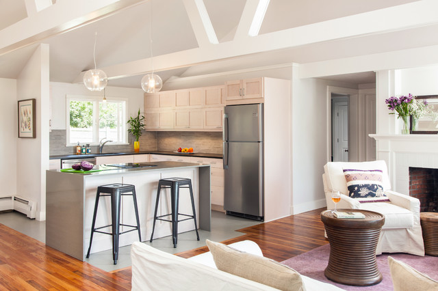 Complete Home Renovation Cottage Transformed To Urban Chic Oasis Contemporary Kitchen