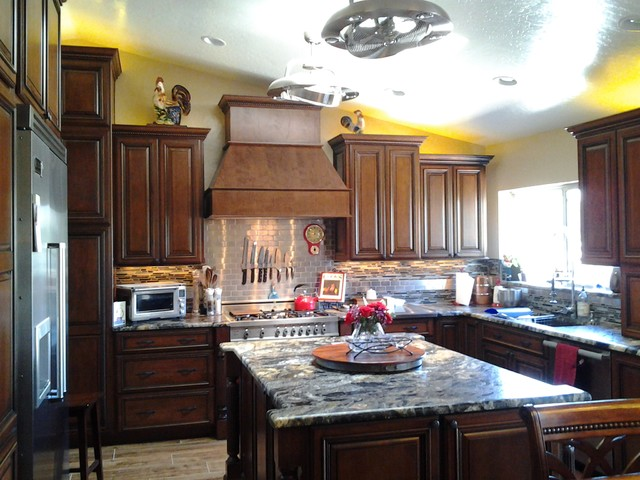 Complete Kitchen Remodel traditional-kitchen