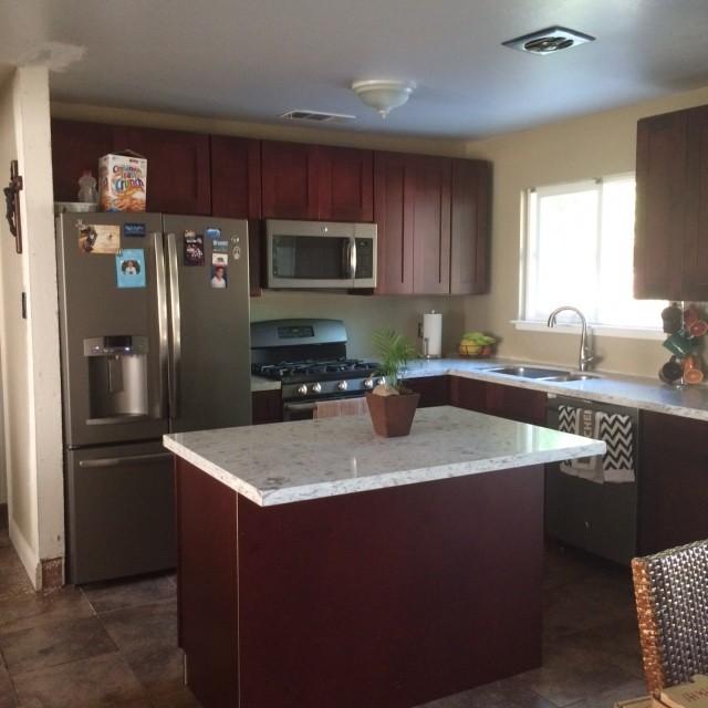 Complete Kitchen Remodel For Under 10 000 Modern Kitchen Philadelphia By Rta Cabinet Store