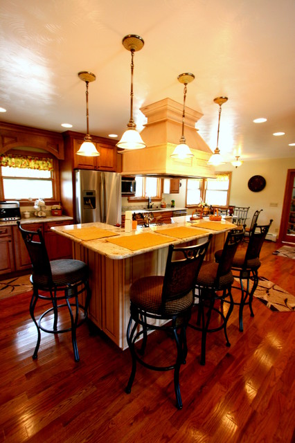 Completed Designs traditional-kitchen