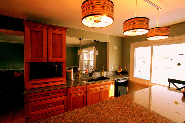 Completed Designs contemporary-kitchen