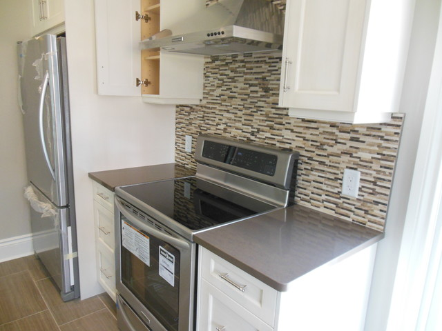 Completed project! traditional-kitchen
