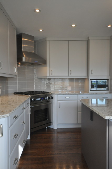 Completed work by Menage transitional-kitchen