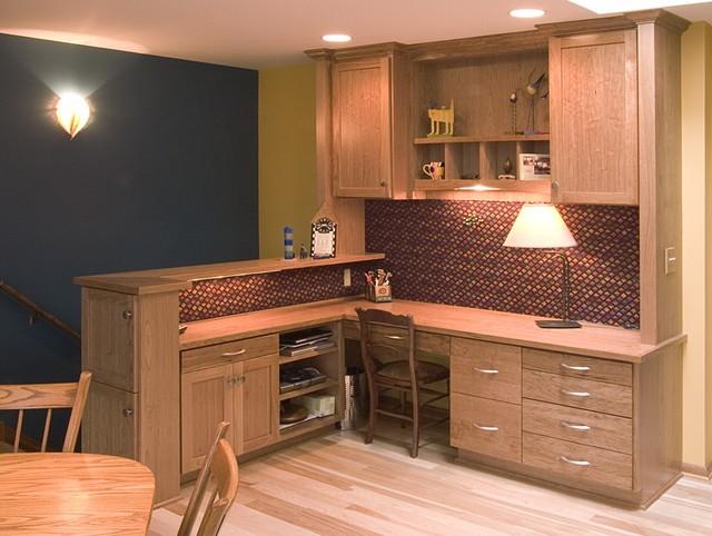 Computer Nook kitchen