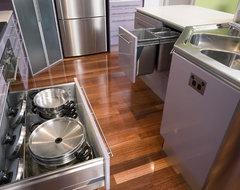 Comtempory Purple contemporary-kitchen