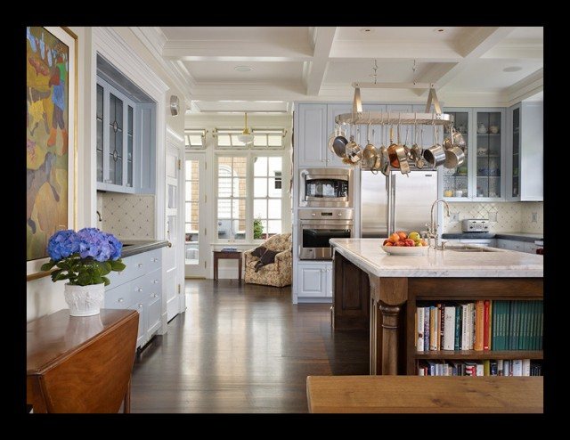 Conard Romano Architects traditional kitchen