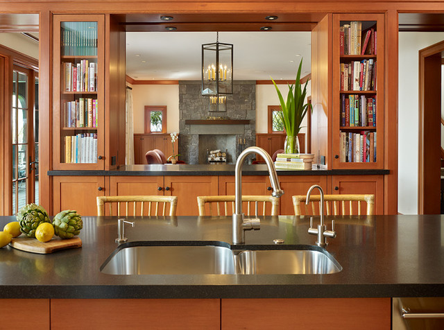 Conard Romano Architects traditional-kitchen