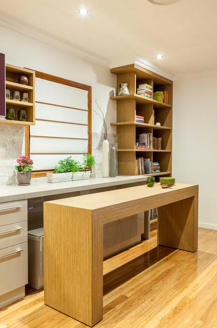 Concealed Living kitchen contemporain-cuisine