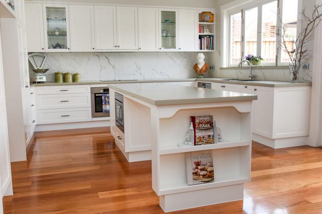 Concord federation house mediterranean kitchen for Federation kitchen designs