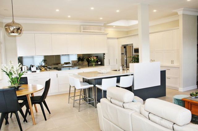Concord: Kitchen and Laundry Renovation, Sydney NSW 2137 transitional-kitchen