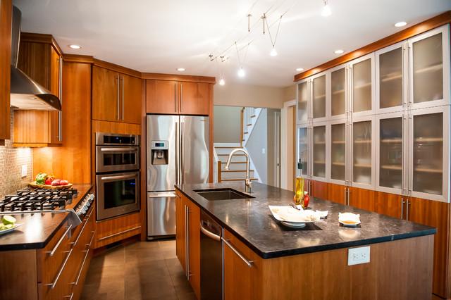 Concord Nh Renovation Modern Kitchen Boston By New England Design Elements