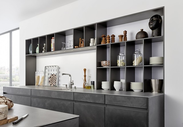 Ordinaire Concrete Cabinets   Industrial Chic Rustic Kitchen