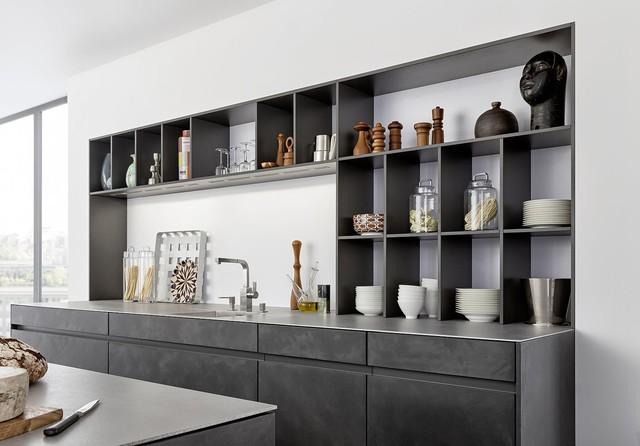 Ordinaire Concrete Cabinets   Industrial Chic Rustic Kitchen