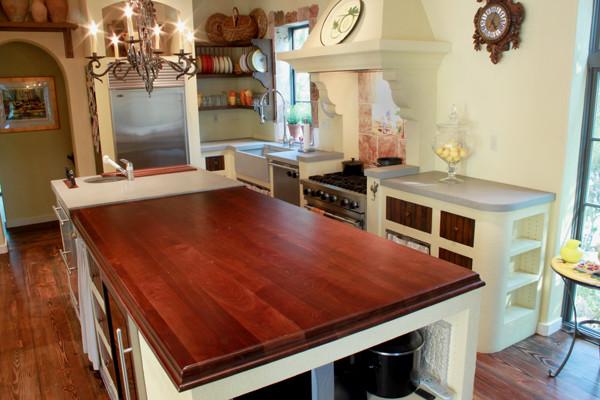 Charmant Concrete Countertops Traditional Kitchen