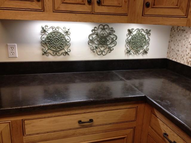 Concrete Countertops Traditional Kitchen Jackson
