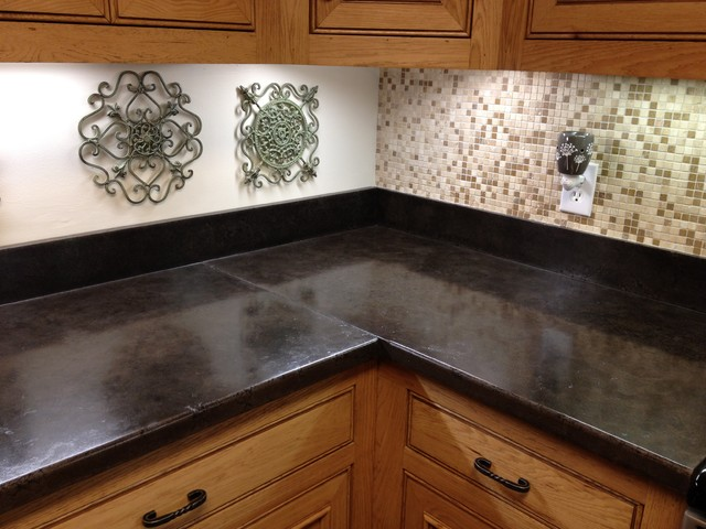 Concrete Countertops Traditional Kitchen Jackson
