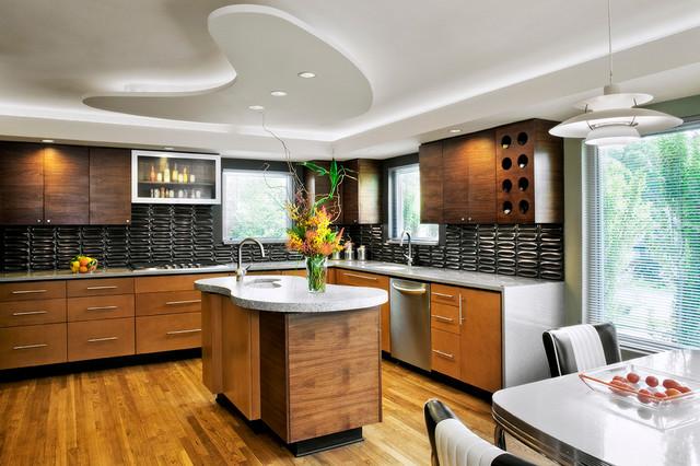 concrete house modern kitchen austin by mark lind. Black Bedroom Furniture Sets. Home Design Ideas