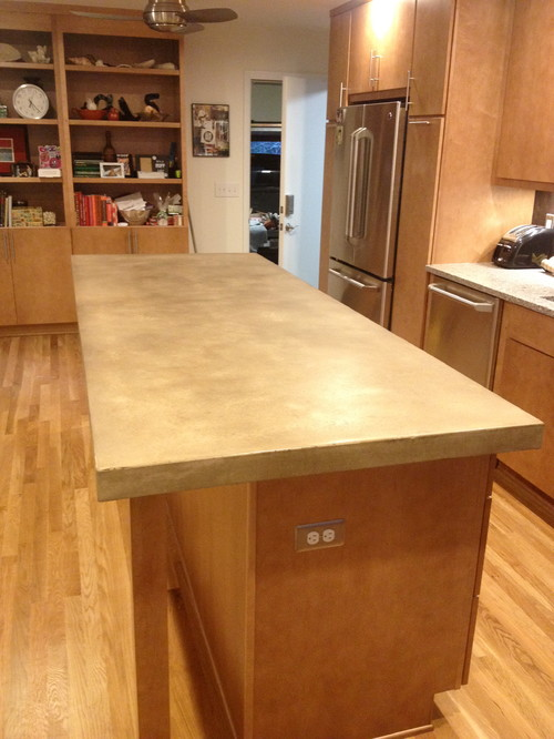 Concrete Countertops Cost : What is the cost per square foot for a concrete countertop? Pros and ...