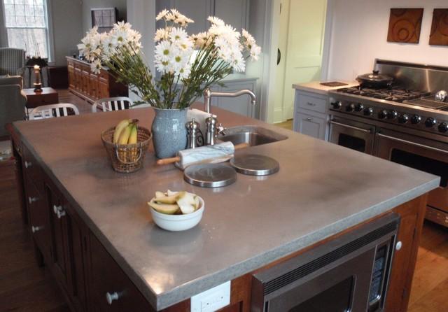 Engineered-concrete - Brooks Custom contemporary-kitchen