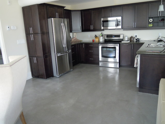 cement kitchen floors concrete overlay condo floor 2048
