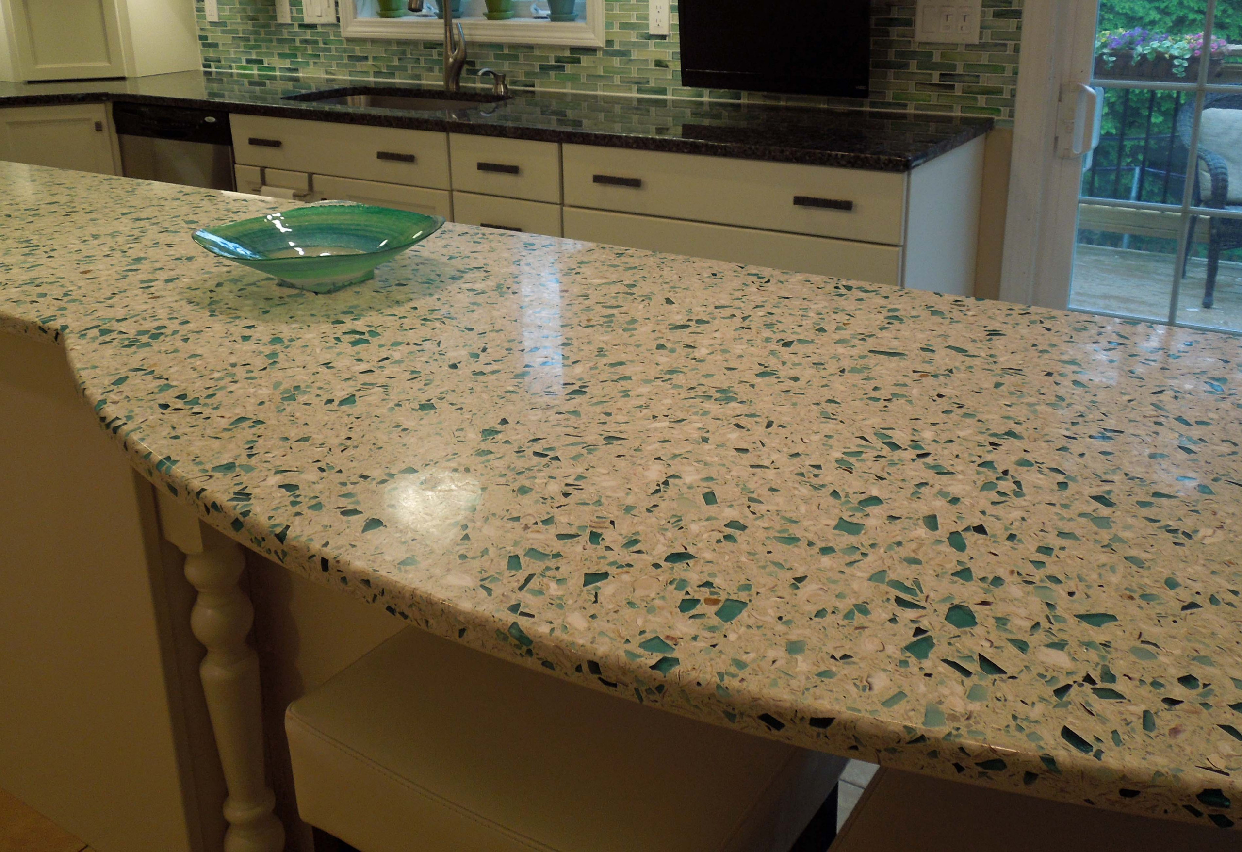 Concrete Recycled Counter