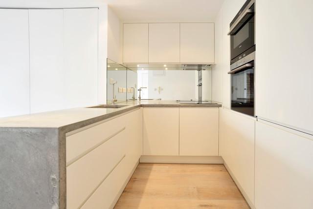Concrete worktops - Shoreditch contemporary-kitchen