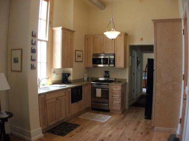 Condo Kitchen & Bath Design traditional-kitchen