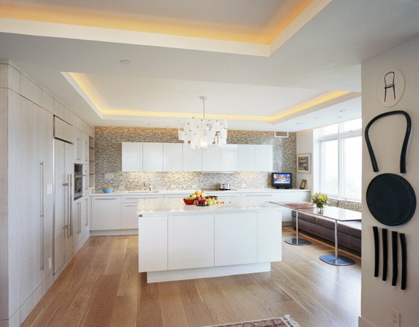 Condo kitchen for Condo ceiling design