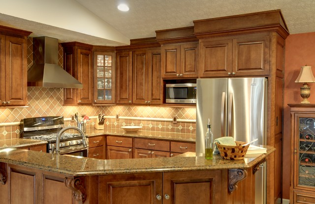 Condo Kitchen Remodel Mediterranean Kitchen Columbus by