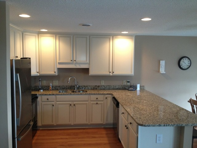 Brilliant Condo Kitchen Renovation In Surfside Beach Sc Traditional Largest Home Design Picture Inspirations Pitcheantrous