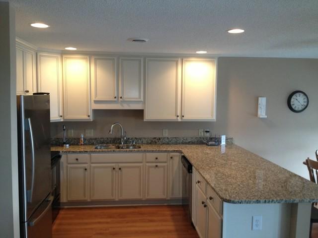 Condo Kitchen Renovation in Surfside Beach, SC - Traditional - Kitchen - Charleston - by Re ...