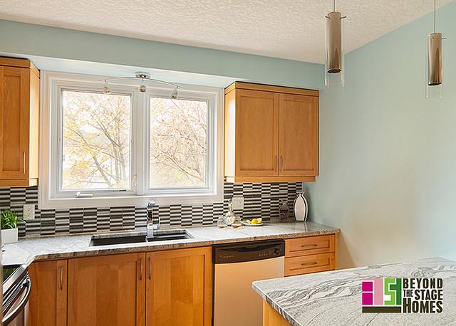 Condo Redesign Project contemporary-kitchen
