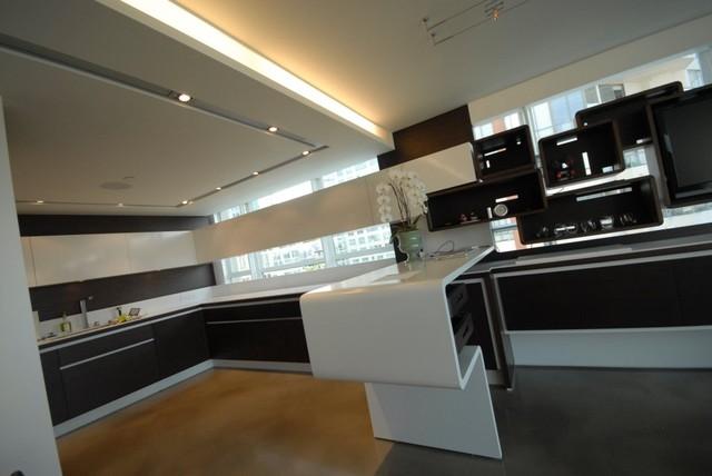 Condo Renovation 1 contemporary-kitchen